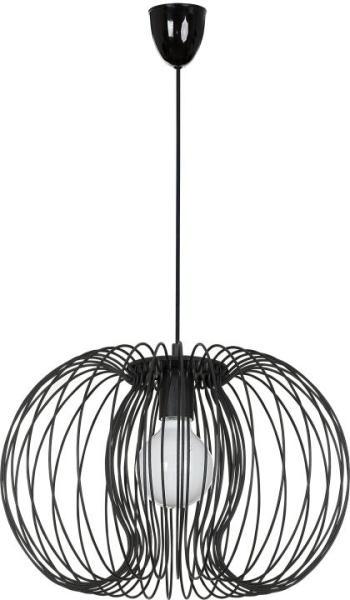 Pendelleuchte schwarz aus Metall AGADIR E27