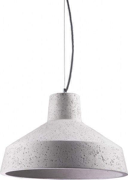 Pendelleuchte modern aus Metall grau GYPSUM E27 D39