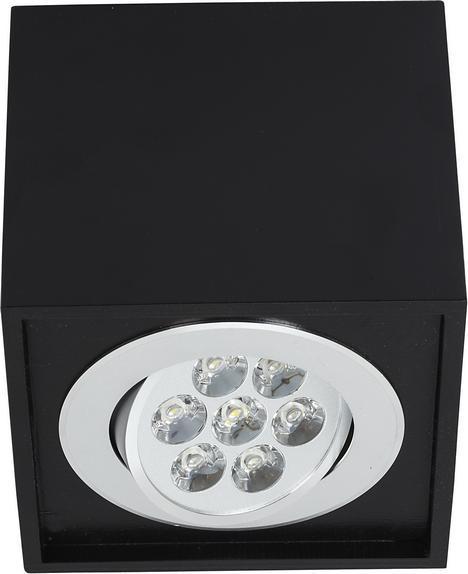 LED Deckenleuchte 7W schwarz neutralweiß