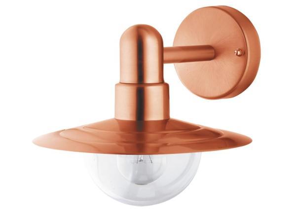 Tallin Außenwandleuchte klassisch Metall/Kunststoff kupfer Außenlampe Wandlampe E27 60W