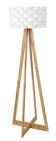 Stehlampe Holz weiß Nordic-Design