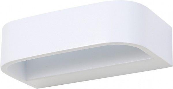 LED Wandleuchte weiß 6W 3000K 648lm