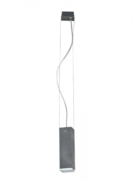 Pendelleuchte modern aus Metall grau BRYCE GU10