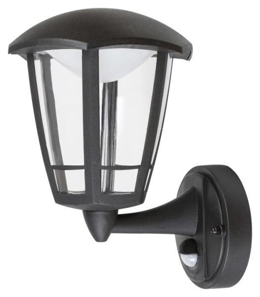 LED Außenleuchte schwarz