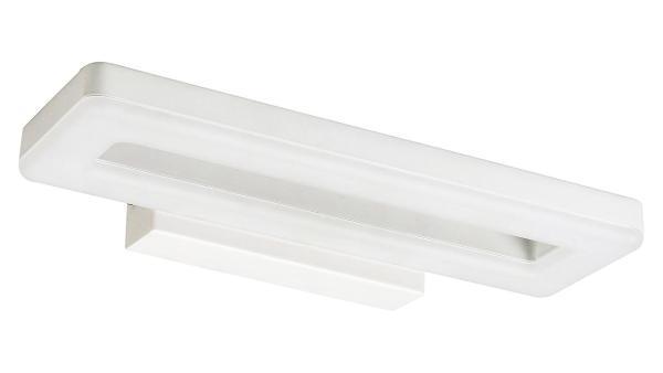 LED Wandleuchte matt weiss LED-Board 16W A 3000K 1000lm IP20