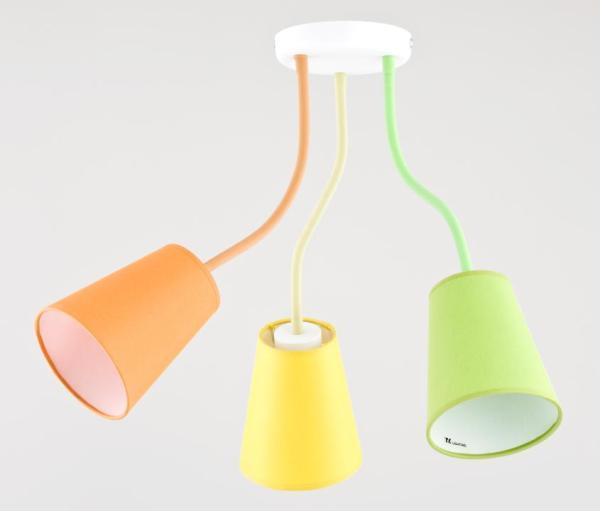 Kinderzimmerlampe Wire Colour bunt