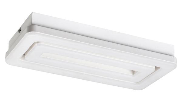 LED Deckenleuchte matt weiss LED-Board 40W A 3000K 2400lm IP20